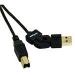 C2G 2m FlexUSB 2.0 A/B Cable