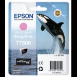 Epson T7606 Tintenpatrone 1 Stück(e) Original Lebendiges helles Magenta