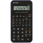 Sharp EL-501X calculator Pocket Scientific Black,Violet
