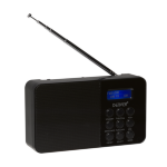 Denver Electronics DAB-33BLACKMK2 Portable Digital radio