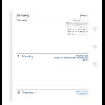 Filofax 19-68421 planner pad