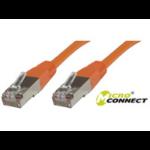 Microconnect SSTP CAT6 0.5M 0.5m Orange