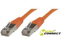 Microconnect SSTP CAT6 0.5M 0.5m Orange
