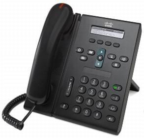 Cisco Unified IP Phone 6921, Slimline Handset Black