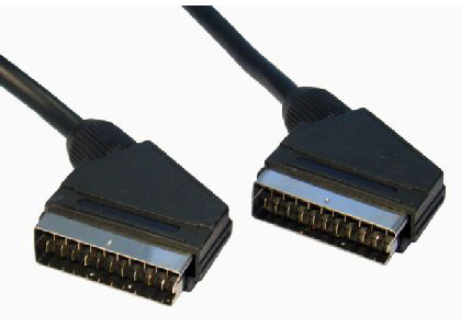 Cables Direct 2SS-20 20m SCART (21-pin) SCART (21-pin) Black SCART cable