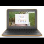 "HP Chromebook 11 G6 EE Grijs 29,5 cm (11.6"") 1366 x 768 Pixels Intel® Celeron® N3350 4 GB LPDDR4-SDRAM 16 GB eMMC"