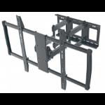 "Manhattan Monitor/TV Wall Mount, Full Motion (3 pivots & tiltable), 1 screen, 60-100"", Vesa 200x200 to 900x600mm, Max 80kg, Black, Box"