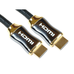 Cables Direct HDMI/HDMI M/M 1m HDMI cable HDMI Type A (Standard) Black,Gold