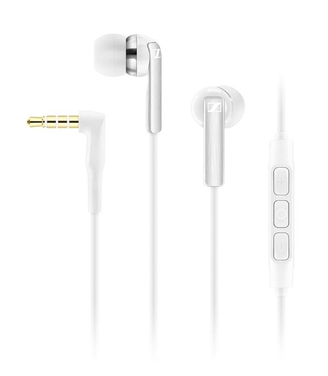 Sennheiser CX 2.00i Auriculares Dentro de oído Blanco