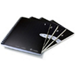 Livescribe A5 Ruled Notebooks 4pk. These convenient A5 size notebooks have 80 college-ruled perforated sheets.