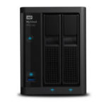 Western Digital My Cloud PR2100 3.5 Inch 2 bay My Cloud Pro series NAS, 8TB, Zwart