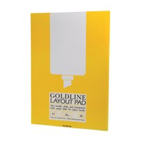 Gold Line Goldline Layout Pad Bank Paper 50gsm 80 Pages A3 Code GPL1A3