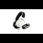 Steelseries Arctis Pro + GameDAC Headset Head-band White
