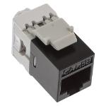 Cablenet Cat5e UTP Punch Down Keystone Jack Component Level Black