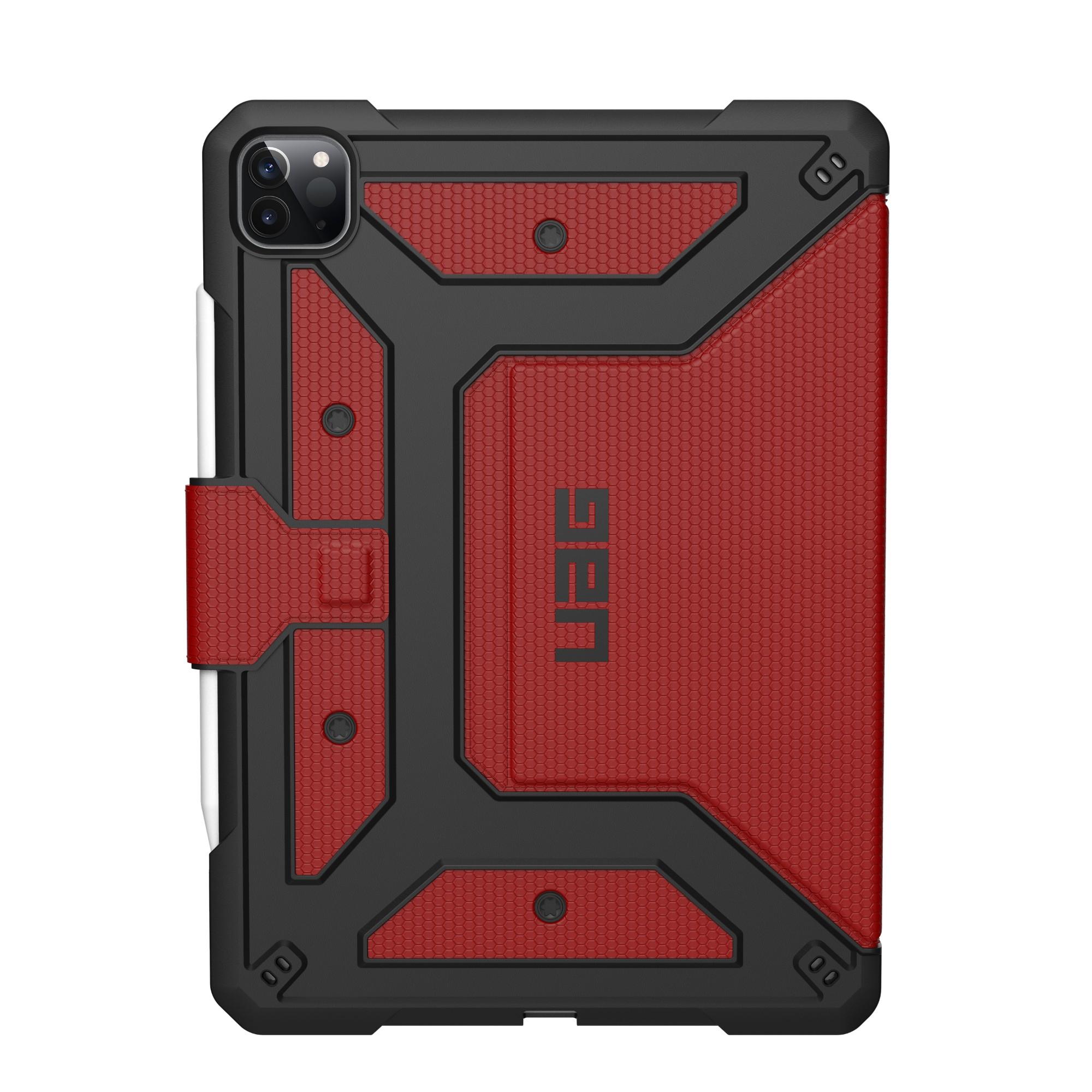"""Urban Armor Gear Metropolis 32,8 cm (12.9"""") Folio Negro, Rojo"""