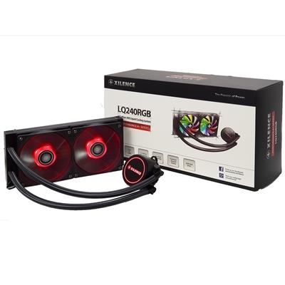 Xilence Performance A+ Series LiQuRizer LQ240 RGB Universal Socket 240mm 1600RPM RGB LED AiO Liquid