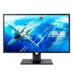 "ASUS VG245HE 24"" Full HD LED Flat Black computer monitor LED display"
