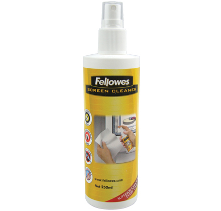 Fellowes 250ml Screen Cleaning Spray Equipment cleansing air pressure cleaner LCD/TFT/Plasma