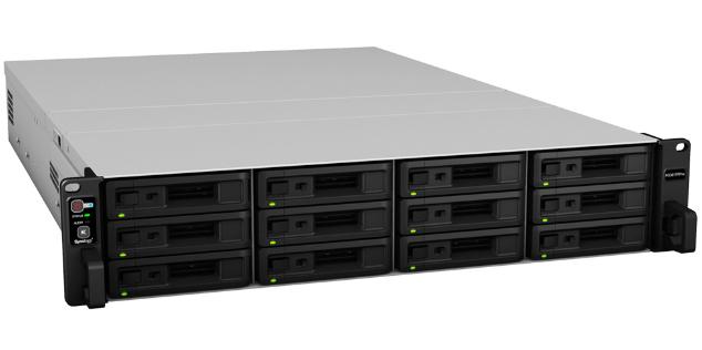 Synology RS3617RPxs NAS Rack (3U) Ethernet LAN Black
