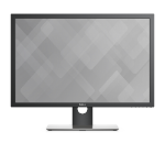 "DELL UltraSharp UP3017 LED display 76,2 cm (30"") 2560 x 1600 Pixeles WQXGA LCD Negro"