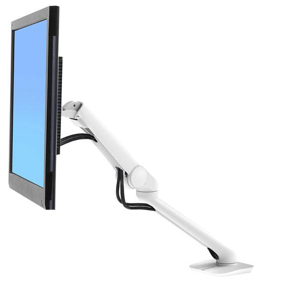 """Ergotron 45-436-216 soporte de mesa para pantalla plana 61 cm (24"""") Plata"""