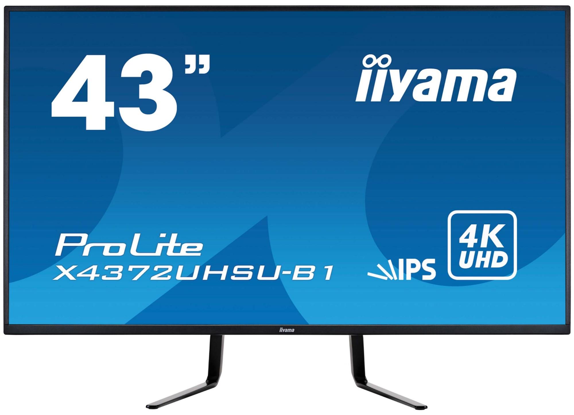 iiyama ProLite X4372UHSU-B1 computer monitor 108 cm 42.5