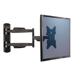 "Fellowes 8043601 flat panel wall mount 55"" Black"