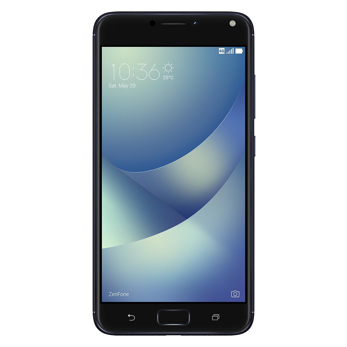 asus zenfone zc554kl 4a071ww dual sim 4g 32gb black smartphone. Black Bedroom Furniture Sets. Home Design Ideas