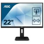 "AOC Pro-line 22P1D LED display 54.6 cm (21.5"") 1920 x 1080 pixels Full HD Black"