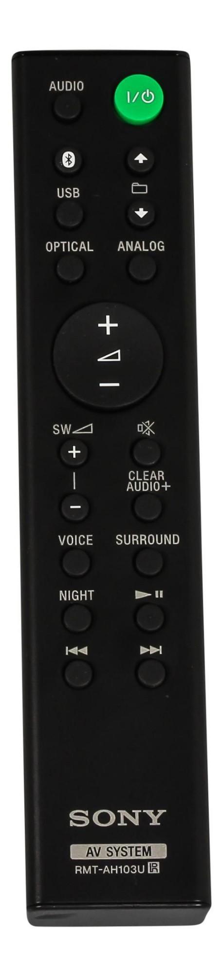 Sony Remote Commander (RMT-AH103U)