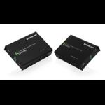 iogear GVE340 AV extender AV transmitter & receiver Black