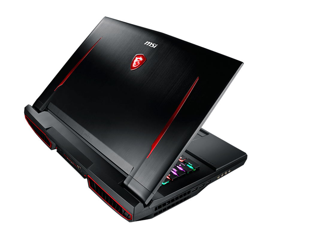 "MSI Gaming GT75VR 7RF(Titan Pro)-007UK 2.9GHz i7-7820HK 17.3"" 1920 x 1080pixels Black Netbook"
