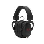 RIOTORO Aviator Classic Gaming Headphones 3.5mm Jack (USB Adapter) Noise Cancelling Mic 50mm Drivers Virtual