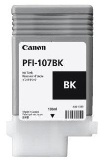 Canon PFI-107BK inktcartridge Original Zwart 1 stuk(s)