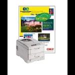 "OKI SynFlex Synthetic Paper - Letter - 8.5"" x 11"" - 100 Sheet Inkjet Paper"
