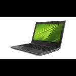 "Lenovo 100e LPDDR4-SDRAM Notebook 29.5 cm (11.6"") 1366 x 768 pixels Intel® Celeron® N 4 GB 64 GB eMMC Wi-Fi 5 (802.11ac) Windows 10 Pro Education Black"