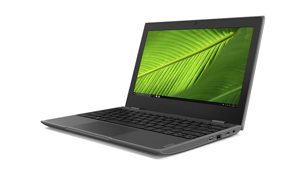 "Lenovo 100e Notebook 29.5 cm (11.6"") HD Intel-� Celeron-� N 4 GB LPDDR4-SDRAM 64 GB eMMC Wi-Fi 5 (802.11ac) Windows 10 Pro Education Black"