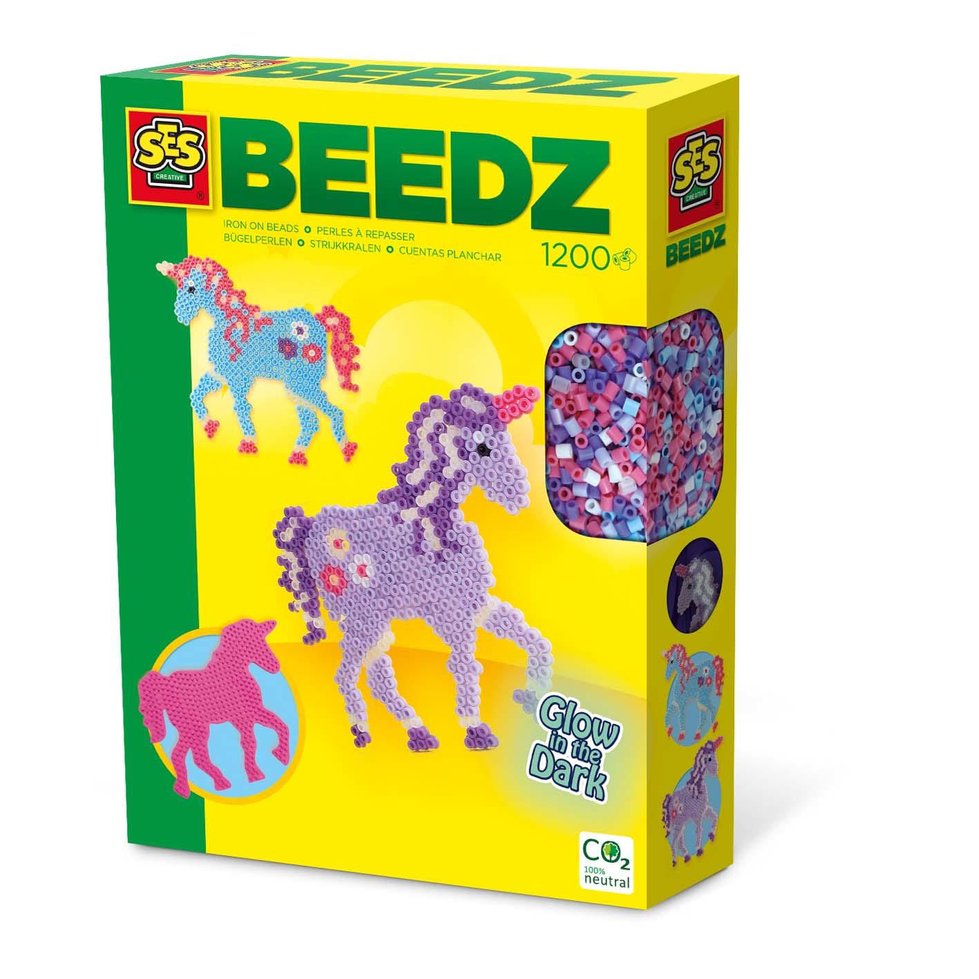 SES Creative Iron on beads - Fantasy horses