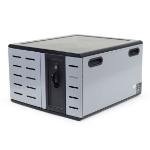Ergotron Zip12 Portable device management cabinet Grey