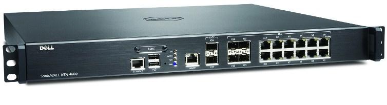 DELL SonicWALL 01-SSC-4267 firewall (hardware)