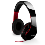 Fantec SHP-250AJ headphone Supraaural Head-band Black, Red