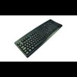2-Power KYBAC-260-UBLKEUR USB QWERTY UK English Black keyboard