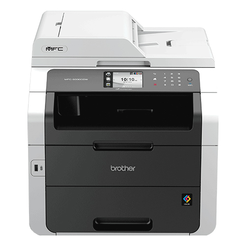 Brother MFC-9330CDW A4 Colour LED Multifunction, Print/Scan/Copy/Fax, 22ppm Printing, 1200 x 2400 dpi res, 192MB Memory, 1 Years On-site warranty