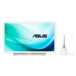 "ASUS PT201Q touch screen monitor 19.5"" 1920 x 1080 pixels White"