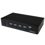 StarTech.com 4-Port DisplayPort KVM Switch - USB 3.0 - 4K 30Hz