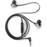 HP H2310 In-ear Binaural Wired Black, Gold mobile headset