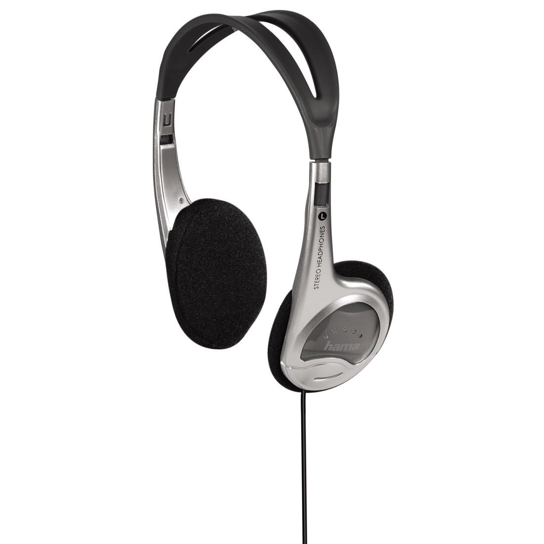 Hama HK-229 Black,Silver Supraaural Head-band headphone