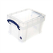 REALUSE REALLY USEFUL 3 LTR BOX WITH LID CLR 3C