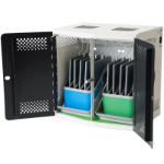 lockncharge iQ 10 Sync Portable device management cabinet Black, White