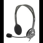 Logitech H111 Binaural Head-band Grey headset